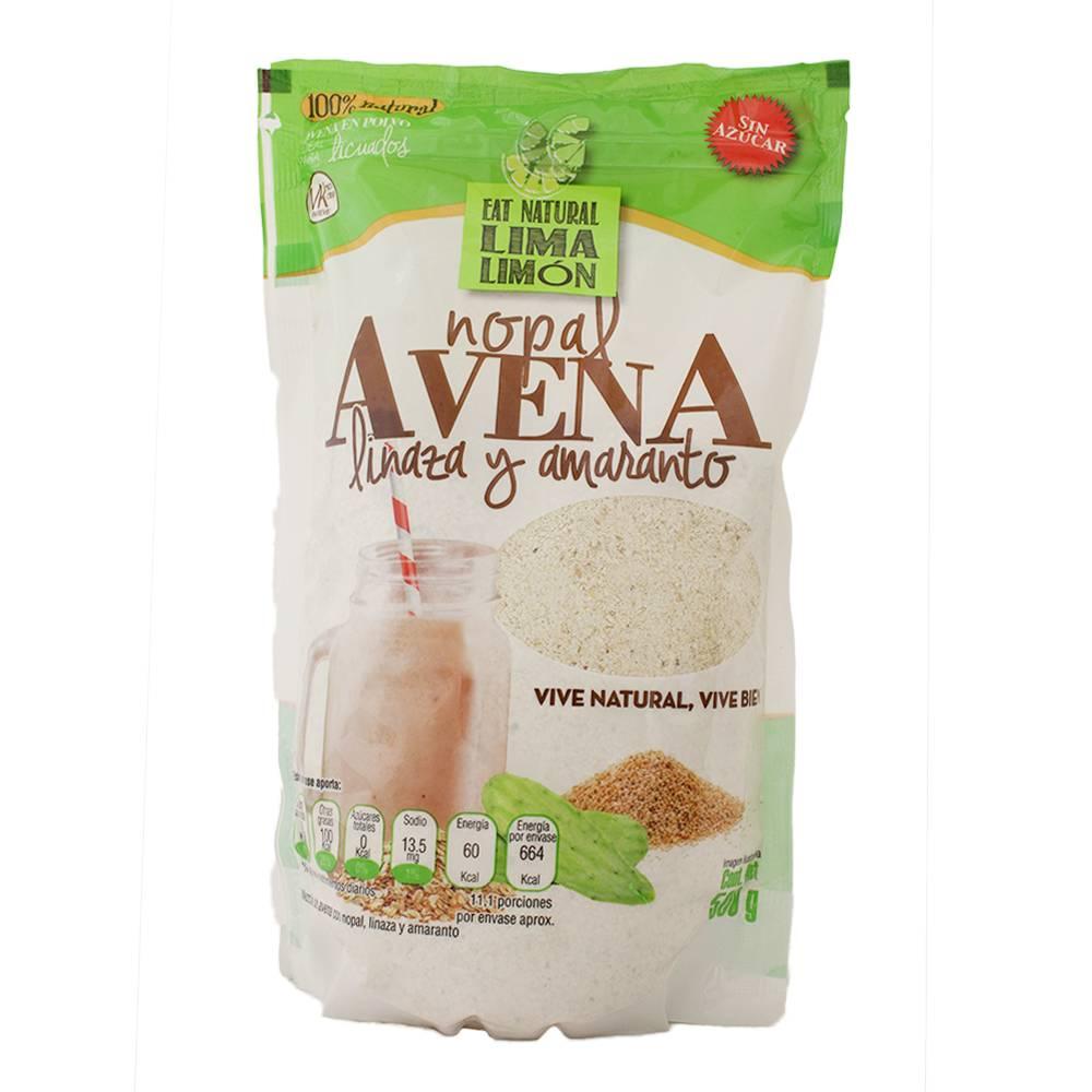 el mejor cereal de avena y nopal