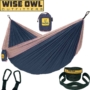 Hammock Camping Double & Single with Tree Straps